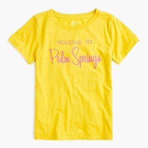 J. Crew Palm Springs destination tee